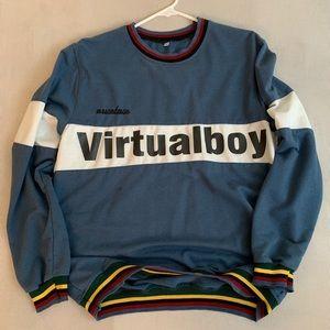 Virtualboy crew neck sweatshirt